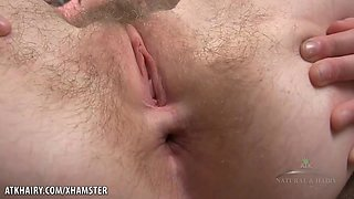 Hairy Teen Cyan Combs Pubes