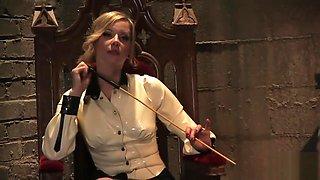 Maitresse Madeline Pegs Her Slave