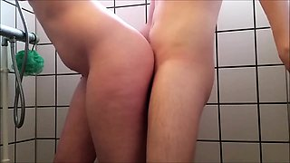 A quick sexy fuck in the shower (Danish)