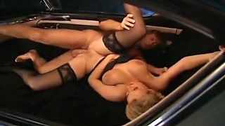 Hana Melonova(Lucy Van Dam) Hard Sex In The Car
