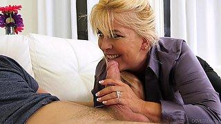 joclyn stone seduced her friend's son @ horny grannies love to fuck #14