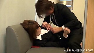 Appealing hot ass porn milf chick goes nasty at work with her boss