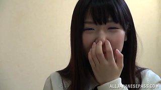 Cute Asian Teen Shows Off