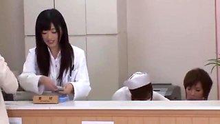 Japanese lesbian nurse