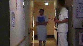 Hottest Japanese slut Nachi Sakaki, Yumemi Nakagawa, Akari Asakiri in Amazing Doggy Style, Nurse JAV scene