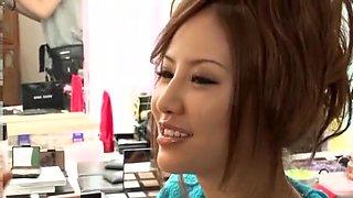 Exotic Japanese girl Kaera Uehara in Amazing JAV clip