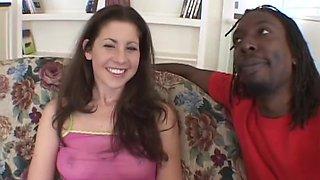 Crazy pornstar Lisa Marie in horny brunette, interracial xxx clip