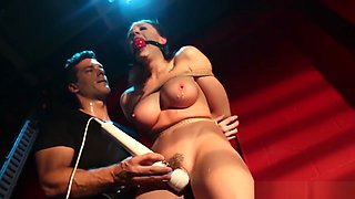 Roped Squirter Roughly Punished By Maledom