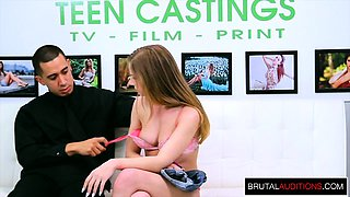 Sexy Teen has a Brutal Audition