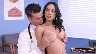 Latin nurse sex and cumshot