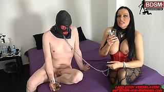german bdsm fetish husband slave with femdom milf