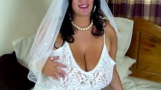Big boob bride