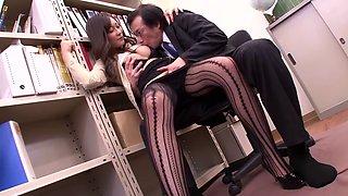 aoki misora bored at the office