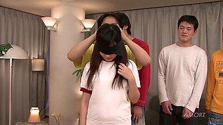 Schoolgirl Is Blindfolded For Pleasure