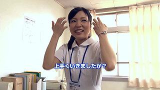 Japanese Novice Nurse Fuck Service