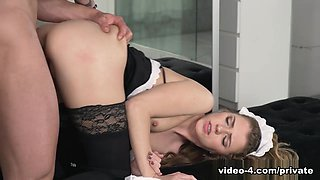 Mary Kalisy, Debuts In Private As A Slutty Maid  - Private