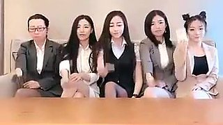 Chinese office girls
