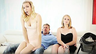 FamilyStrokes - Sexy Daughter Gia Paige Seduces Her Stepdad