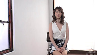 36 y.o. An Ordinary Slim Housewife Porn Film Debut Shoot