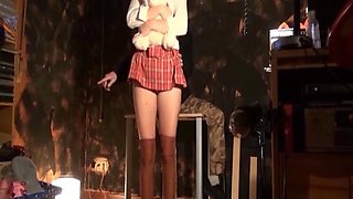 Casting of Submission and BDSM to a Schoolgirl. Punish