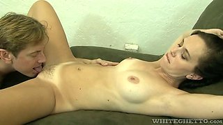 Horn-mad American MILF Alana Cruise sucks balls as if it's her last day