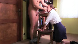 Extreme Hard Deepthroat Abuse Of Teen Schoolgirl (Gagging, Cum In Throat)