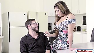 Latina Mercedes fucked in the office