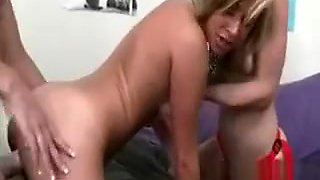 Bunch of nasty amateur girls pussy licking and strap on fun