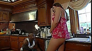 cheating cuckold wife at home interracial bbc on bed