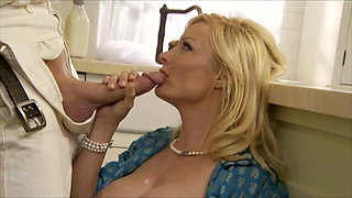 Holly Sampson Horny Housewife Fucked Hard By Milkman