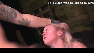 Marsha May rough slave training session