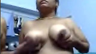 Desi Indian Aunty And Uncle
