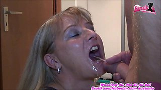 German milf get deep piss in mouth - submassive milf
