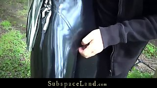bdsm outdoor and indoor exploit for