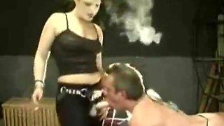 Smoking femdom