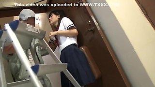 the Repairman and the schoolgirl