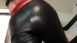Crazy amateur Fetish, Latex xxx video