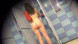 Voyeur Spycam Gorgeous Teen Brunette Fitting