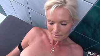Czech mature maid