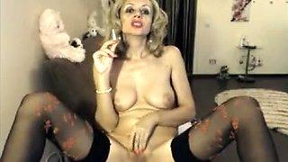 Exotic amateur Blonde, MILFs adult video