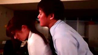 Best Japanese whore Haruki Sato in Amazing Secretary JAV clip