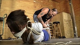 Terra extreme hogtied