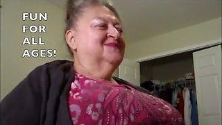Granny bitch nancy black school for cocksuckers