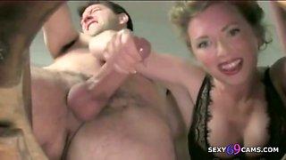 Master Mistress Dominate Jerking Sissy Slaves