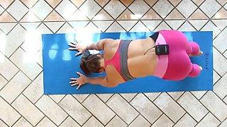 yes!!! fitness hot ASS hot CAMELTOE 107(yoga)