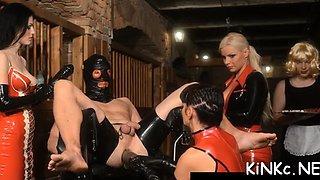 mistress takes slave for walk segment film 1