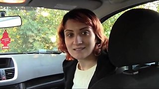 Turkish girl foot fetish meeting in car ( feet licking )