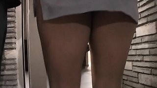 Fleshly kissing and tit playing act with a pretty latina