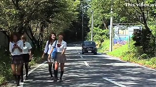 BSBJ-01 Japanese schoolgirls wetlook
