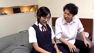 Japanese schoolgirl chie eiro  a tender  polite and innocent